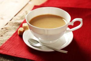 Genussvoller Milchkaffee
